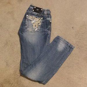 Miss Me skinny jeans Sz 27
